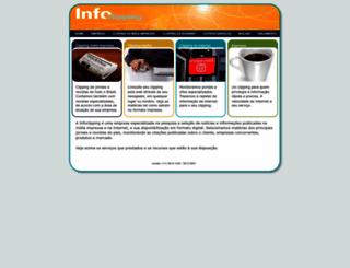 infoclipping.com.br screenshot
