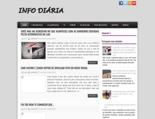 infodiarianet.blogspot.com.br screenshot