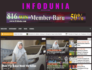 infodunia.net screenshot
