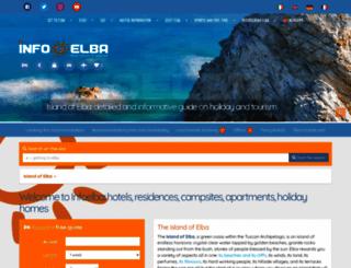 infoelba.com screenshot