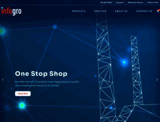 infogro.co.za screenshot