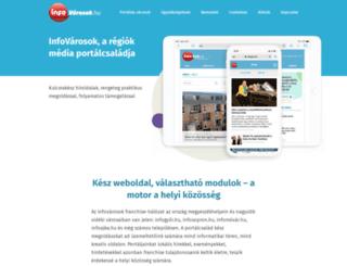 infojaszsag.hu screenshot