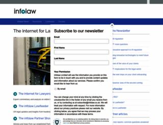 infolaw.co.uk screenshot