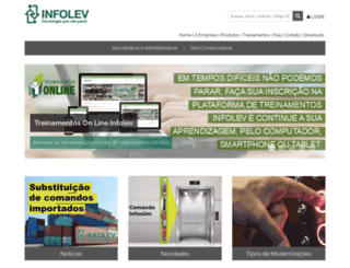 infolev.com.br screenshot