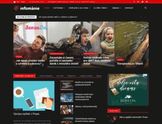 infomanie.cz screenshot