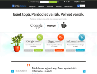infomedia.lv screenshot