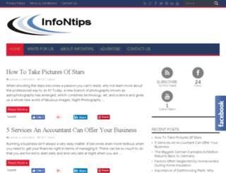 infontips.com screenshot