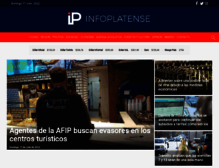 infoplatense.com.ar screenshot