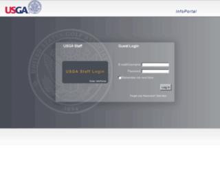 infoportal.usga.org screenshot