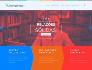inforgeneses.com.br screenshot
