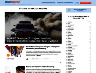 informacjeprasowe.pl screenshot