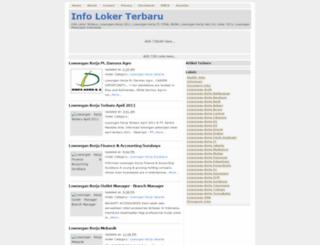 informasi-lowongankerja-terbaru.blogspot.com screenshot