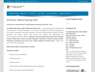 informasitraining-indonesia.com screenshot