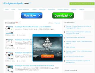 informatica.divulgueconteudo.com screenshot
