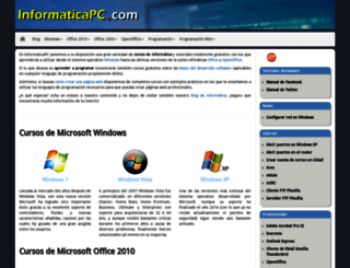 informaticapc.com screenshot