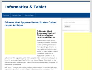 informaticatablet.info screenshot