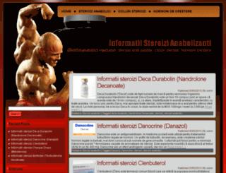 informatii-steroizi.ro screenshot