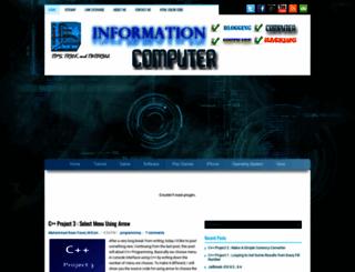 information-computer.com screenshot
