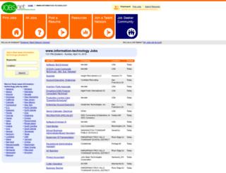 information-technology.jobs.net screenshot