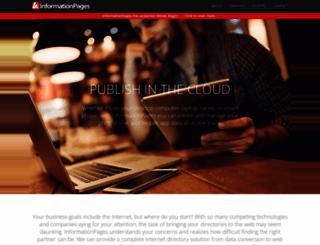 informationpages.com screenshot