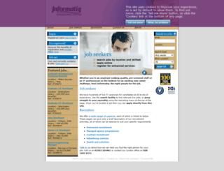 informatiq.co.uk screenshot