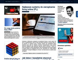 informatykawfirmie.pl screenshot