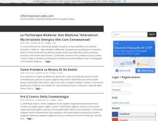 informazione-web.com screenshot