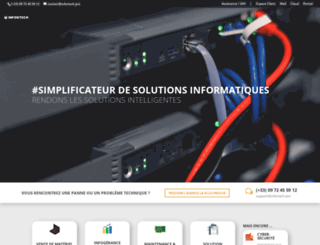 infortechservice.fr screenshot