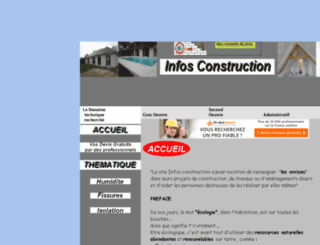 infosconstruction.com screenshot