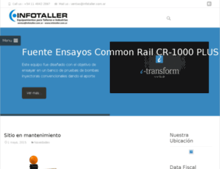 infotaller.com.ar screenshot