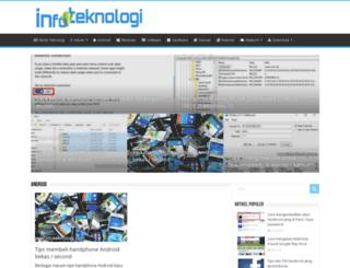 infoteknologi.com screenshot