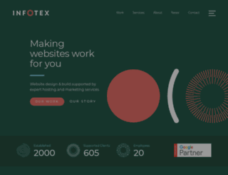 infotex.co.uk screenshot