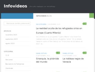 infovideos.arredemo.org screenshot