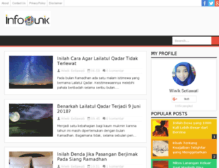 infoyunik.blogspot.com screenshot