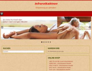 infrarot-haussauna.de screenshot