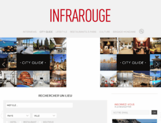 infrarouge-lecityguide.fr screenshot