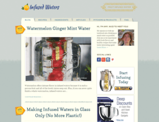 infusedwaters.com screenshot