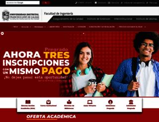 ingenieria.udistrital.edu.co screenshot