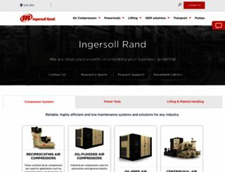 ingersollrand.com screenshot