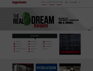 ingeteam.com screenshot