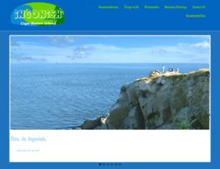 ingonish.com screenshot