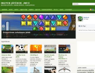 ingyenjatekok.info screenshot