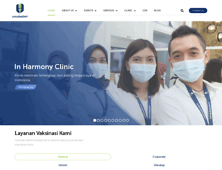 inharmonyclinic.com screenshot