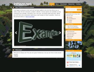 inhaze.net screenshot