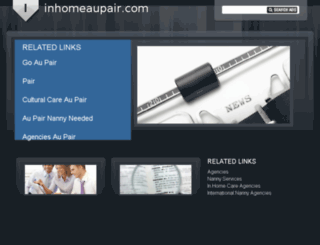 inhomeaupair.com screenshot