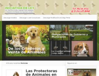 iniciativanl.com screenshot