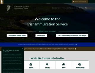 inis.gov.ie screenshot