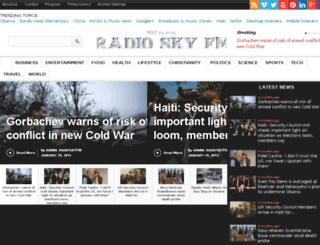 initialcloudflare.radioskyfm.com screenshot