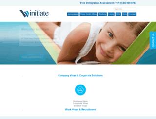 initiateimmigration.com screenshot