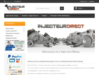 injecteur-direct.com screenshot